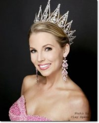 Brittany Frick formerly Miss California International crowned July 06,Miss International